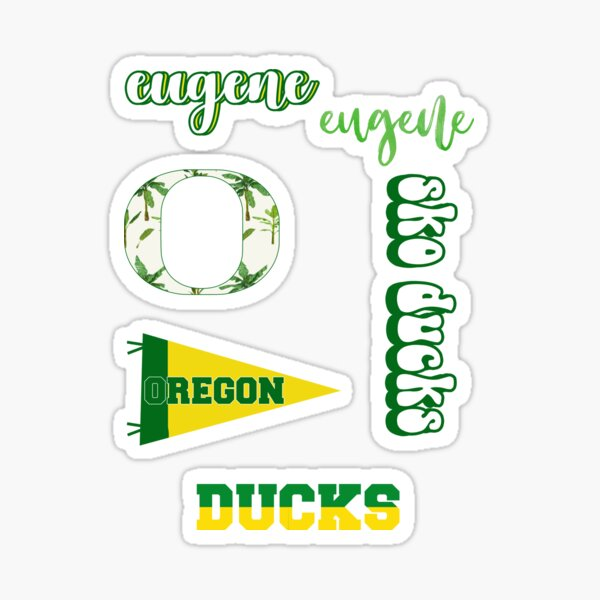 University of Oregon Pattern Sticker