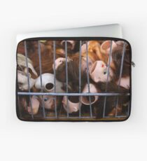 Dolls in Cages Laptop Sleeve