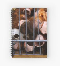 Dolls in Cages Spiral Notebook