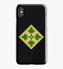 4th Infantry Division iPhone Case/Skin