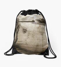 lone gunman Drawstring Bag