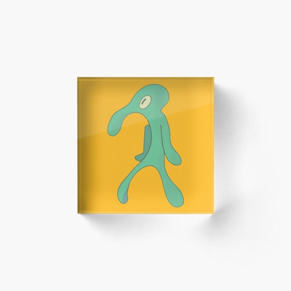 Transparent Bold and Brash Acrylic Block