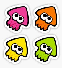 Neo Squid Sticker Pack 1 Sticker