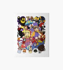 A Hat in Time Art Board Print