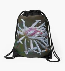 Flower & Fly Drawstring Bag