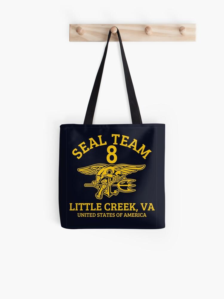 U S  Navy SEALS - Seal Team 8   Tote Bag