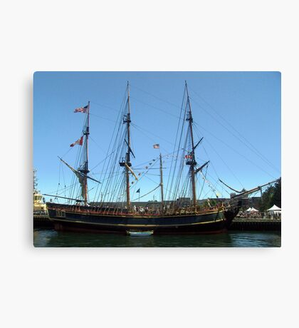 H.M.S.Bounty Canvas Print