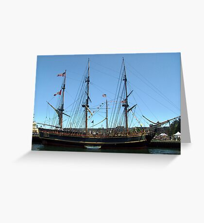 H.M.S.Bounty Greeting Card