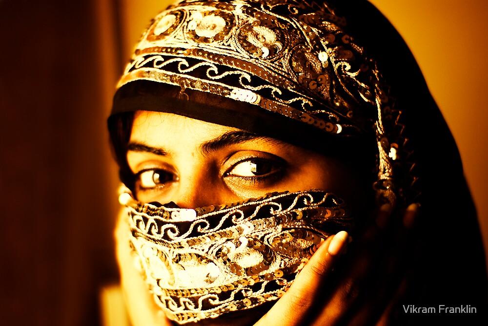 Hidden smile by Vikram Franklin