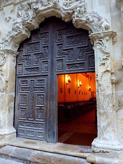 Mission Doorway by Charmiene Maxwell-Batten