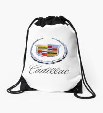cadillac classic car Drawstring Bag