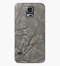 grey sharp jagged edges Case/Skin for Samsung Galaxy