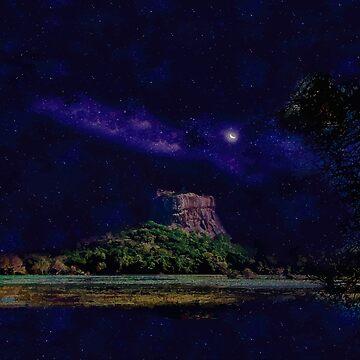 Enchanting Rock Fortress Sri Lanka by ThreeCrowns
