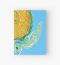 Turtle - Green Orange Hardcover Journal