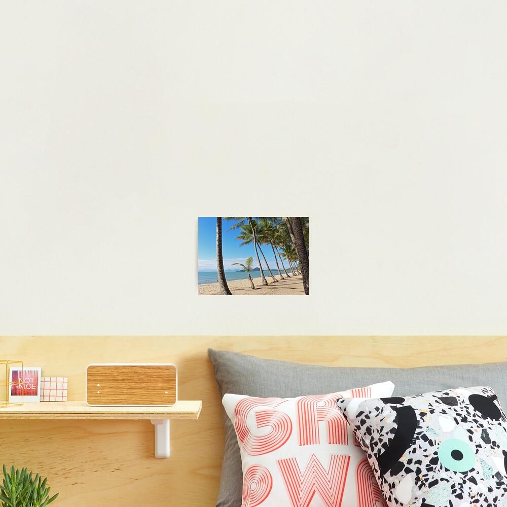 Tropical beach bliss Photographic Print