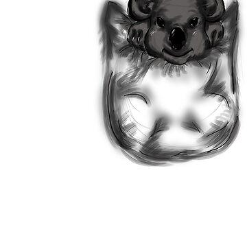 Pocket Koala by stillfreeit
