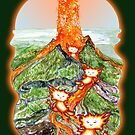 Volcanic Fire Sprite Playground by SmileDial