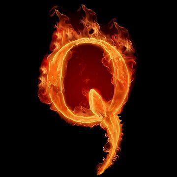 Fire Q QAnon  by TrumpQAnon