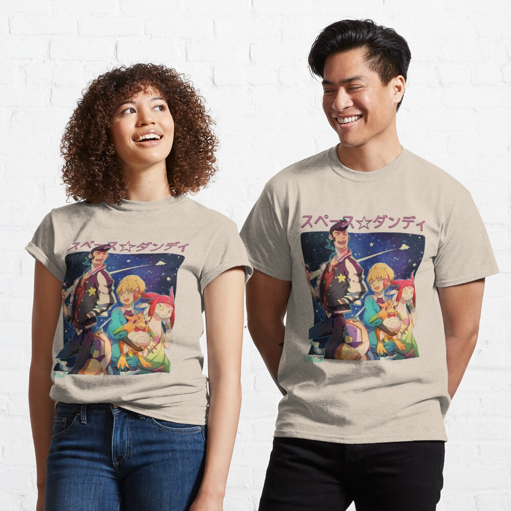 Space Dandy Group Pose Classic T-Shirt