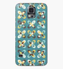 Retro seasons 08, Summer butterflies Case/Skin for Samsung Galaxy