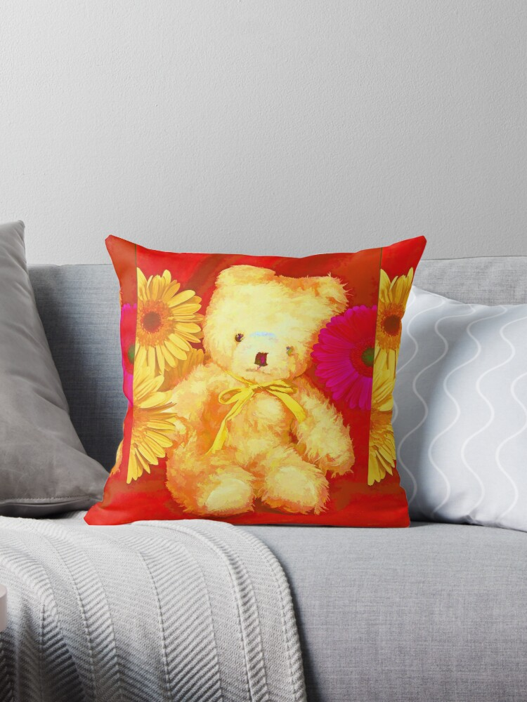 Little Ted Teddy Bear by Bloomin' Arty Fashion