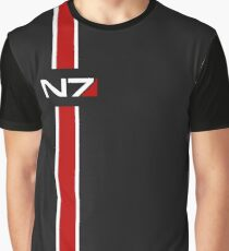 N7 emblem, Mass Effect Graphic T-Shirt