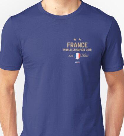 France Champion Du Monde 2018 • Les Bleus • Football World Cup Champion 2018 ID 3-1 T-Shirt