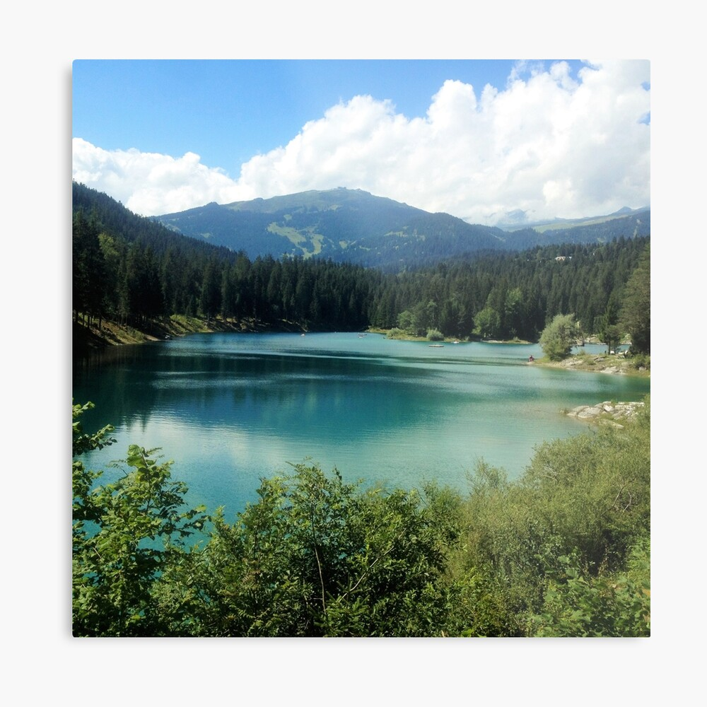 Oh, the Mountains are Calling Metal Print