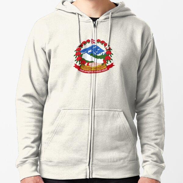 Emblem of Nepal Veste zippée à capuche