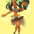 « Africaine danseuse princesse » par Libou