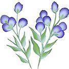Cute flowers by snehatulsani