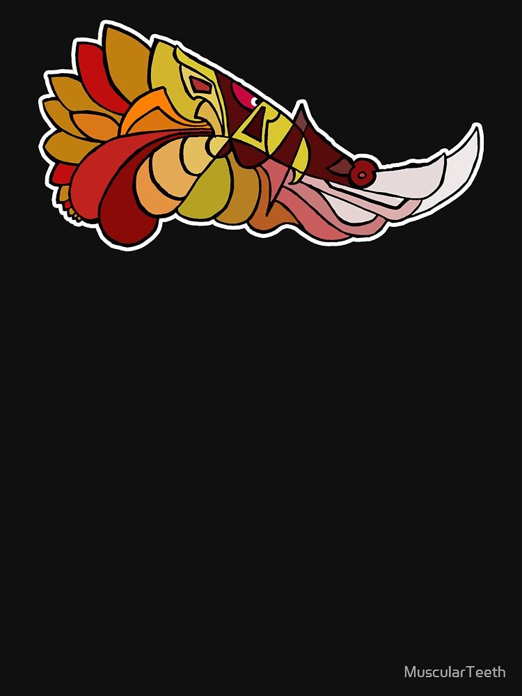 Stylised Phoenix by MuscularTeeth
