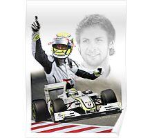Jenson Button 2009 Poster