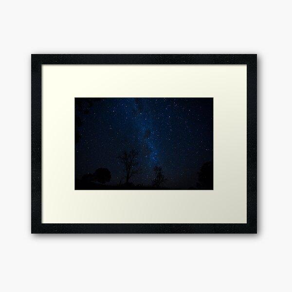 "Starry night in Oz ""Down Under"" Framed Art Print"