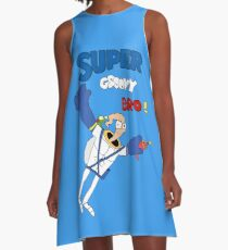 Super Groovy Bro! A-Line Dress
