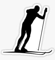 Cross country ski Sticker