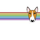 Cane Rainbow Stripe by emilydevineart