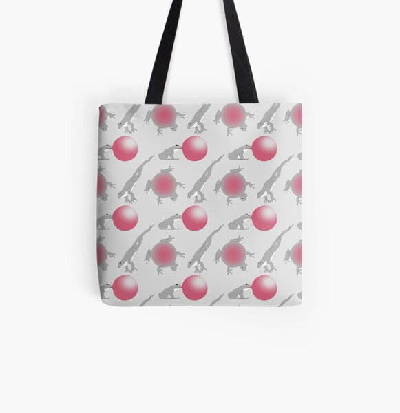 Crazy frogs All Over Print Tote Bag