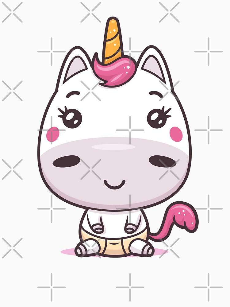 Baby Unicorn by zoljo