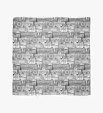 London toile black white Scarf