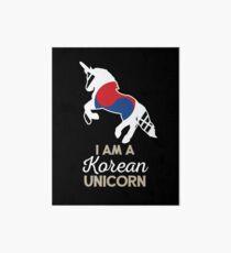 South Korea Korean Unicorn Art Board