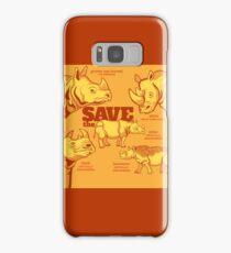 Save the Rhino Samsung Galaxy Case/Skin