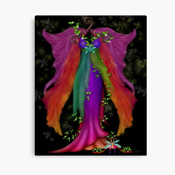 Titania Dress Canvas Print