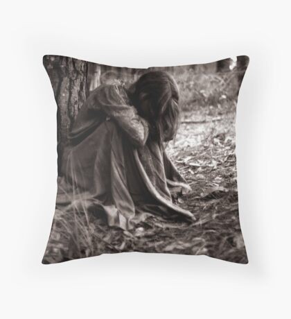 when solitude is required... Throw Pillow