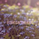 If light is in your heart, you will find your way home by Nicola  Pearson