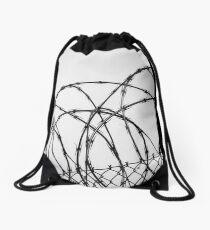 Razor Wire Drawstring Bag