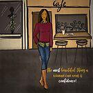 Confident Woman by cardwellandink