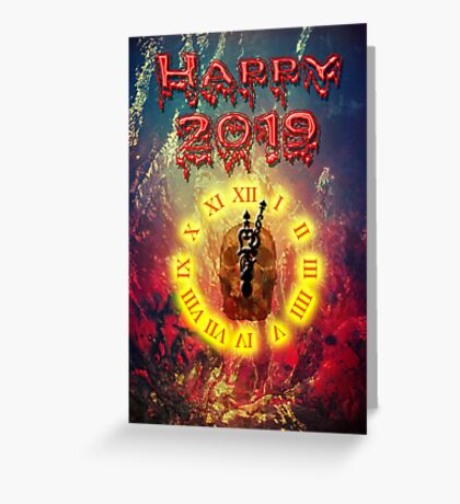 Happy 2019 Greeting Card