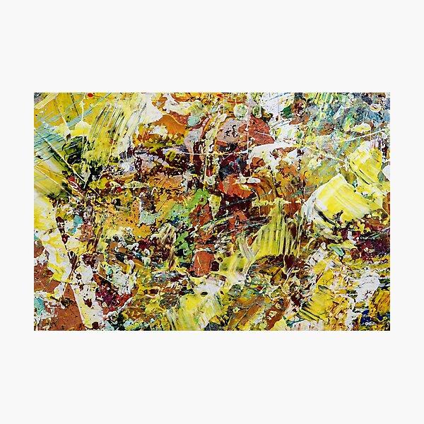 abstracto paint VII Fotodruck