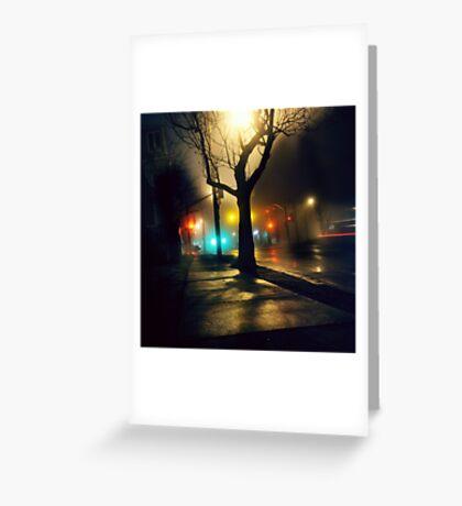 Nebula Tree Greeting Card
